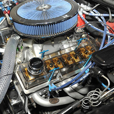 Small Block Chevy Valve Cover Picture